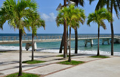 Martinique, picturesque city of Le diamant in West Indies Stock Photography