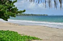 Martinique, picturesque city of Le diamant in West Indies Stock Image