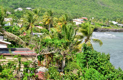 Martinique, picturesque city of Le diamant in West Indies Royalty Free Stock Photo