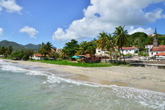 Martinique, picturesque city of Le diamant in West Indies Stock Images