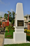 Martinique, picturesque city of Le Saint Esprit in West Indies Stock Photo