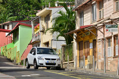 Martinique, picturesque city of Riviere Pilote in West Indies Royalty Free Stock Image