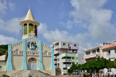 Martinique, picturesque city of Riviere Pilote in West Indies Royalty Free Stock Photography