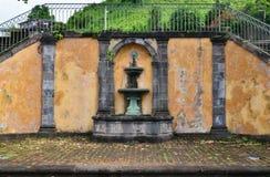 Martinique, picturesque city of Saint Pierre in West Indies Stock Photos