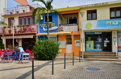 Martinique, picturesque city of Sainte Luce in West Indies Stock Images