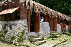 Martinique, picturesque Habitation Ceron in Le Precheur in West. Martinique, the picturesque Habitation Ceron in Le Precheur in West Indies royalty free stock images