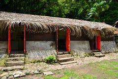Martinique pittoresk boning Ceron i Le Precheur i västra fotografering för bildbyråer