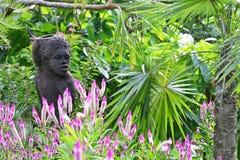 Martinique pittoresk stad av Les Trois Ilets i västra Indies arkivfoton
