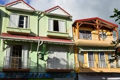 Martinique, schilderachtig dorp van Riviere Pilote in het Westen Indie Royalty-vrije Stock Foto's