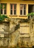 Martinique, schilderachtig dorp van Riviere Pilote in het Westen Indie Royalty-vrije Stock Fotografie