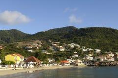Martinique, strand van Tengere Anse Royalty-vrije Stock Afbeeldingen