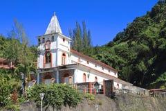 Martinique, Ville de Fonds-Saint-Denis: Katholische Kirche (1845) Stockfoto