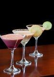 martinis десерта Стоковые Изображения