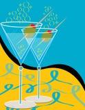 martinis 2 иллюстрация штока