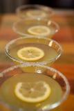 martinis Fotografering för Bildbyråer