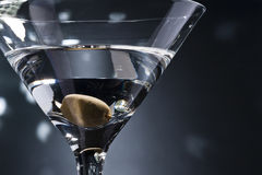 Martinis on the dance floor Royalty Free Stock Photos
