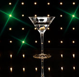 Martinis on the dance floor Stock Photography