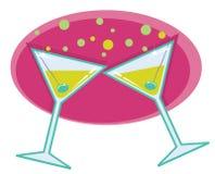 Free Martinis Retro Style Illustration. Stock Images - 23098414