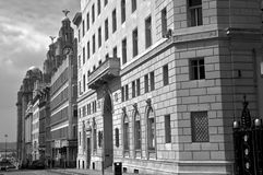 MARTINS BANK LIVERPOOL royalty free stock images