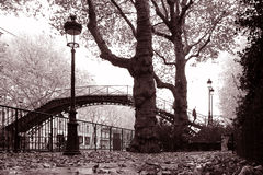 martins kanałowy Paris st. Fotografia Stock