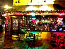 Martins Tavern Restaurant dans des effets Georgetown-spéciaux image stock