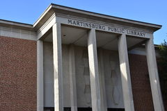 Martinsburg Public Library in West Virginia Royalty Free Stock Photos