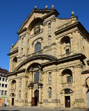 Martinskirche (St Martin kościół) w Bamberg, Niemcy obraz royalty free