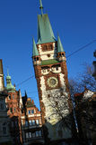 The Martinstor in Freiburg, Germany Royalty Free Stock Photos