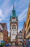 Martinstor, Freiburg im Breisgau, Germany Royalty Free Stock Photo