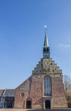 Martinus church in the historical center of Dokkum Stock Photo