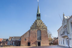 Martinus church in the historical center of Dokkum Stock Photography