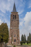 Martinus tower in the center of Gennep. Netherlands Royalty Free Stock Image