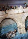 Martirio di St John di Nepomuk Immagini Stock Libere da Diritti