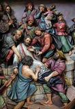 Martirio di St John di Nepomuk Immagine Stock