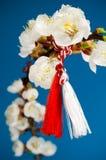 Martisor - día de fiesta de la primavera Imagen de archivo