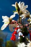 Martisor - Frühlings-Feiertag lizenzfreie stockbilder