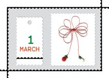 Martisor- romanian spring holiday Royalty Free Stock Photography