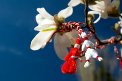 Martisor - Spring Holiday. Martisor is an old Romanian celebration at the beginning of spring, on March the 1st Royalty Free Stock Photos