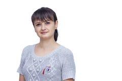 Martisor sulla donna Fotografie Stock Libere da Diritti