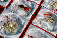 Martisor,symbol for coming spring-8 stock images