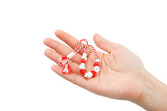 Martisor - symbol of the spring Stock Images