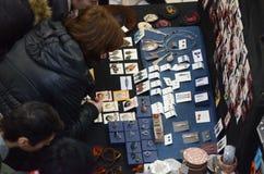 Martisor wprowadzać na rynek, Bucharest, Rumunia - 28 2018 Feb Zdjęcia Stock