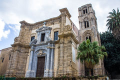 Martorana church, in Palermo, Italy Stock Image