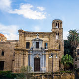 Martorana church, in Palermo, Italy Stock Photo
