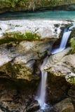 Martvilcanion, Georgië, Kutaisi Rivier, meren, watervallen Royalty-vrije Stock Foto's