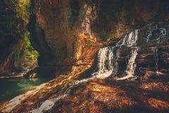 Martvili canyon in Georgia. Nature landscape Stock Photo