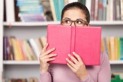 Martwiący się o jej egzaminach. Zdjęcie Stock
