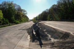 Martwy koniec autostrada zdjęcia stock