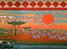 Marty和密林壁画(选择的部分) 免版税图库摄影