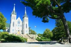 Martyr's Shrine Roman Catholic Church. The Martyrs' Roman Catholic Shrine in Midland, Ontario Royalty Free Stock Images